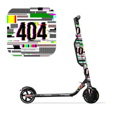 #404 tõukeratta kleebiste komplekt