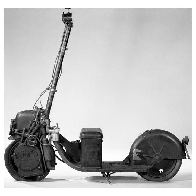 Autoped – esimene iseliikuv tõukeratas on üle 100 aasta vana.